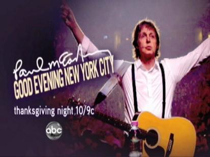 VIDEO: Paul McCartney on 2020