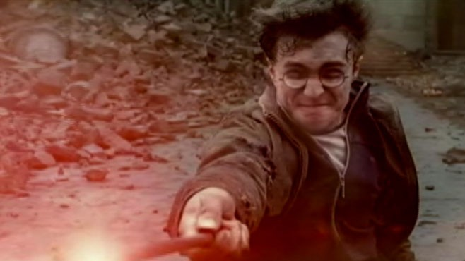 "VIDEO: ""Deathly Hallows Part 2"" will conclude the ""Harry Potter"" series."