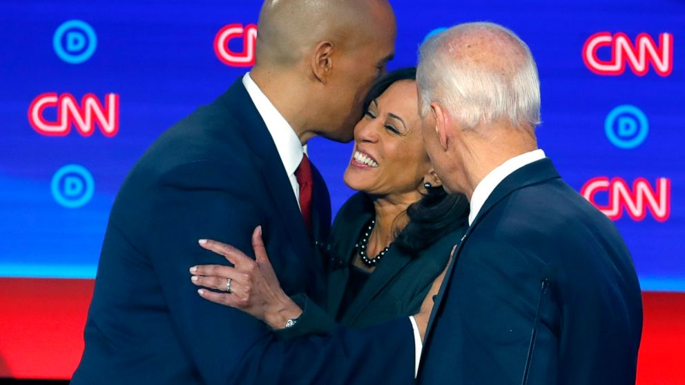 Democratic Debates 2019 After Hitting Impeachment Hard Biden Urged Voters To Overcome The Damage Trump Has Done Abc News