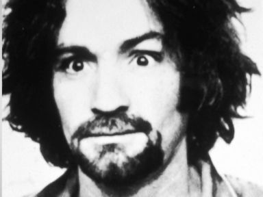 PHOTO: Police mug shot of American cult leader and murderer Charles Manson, 1969.