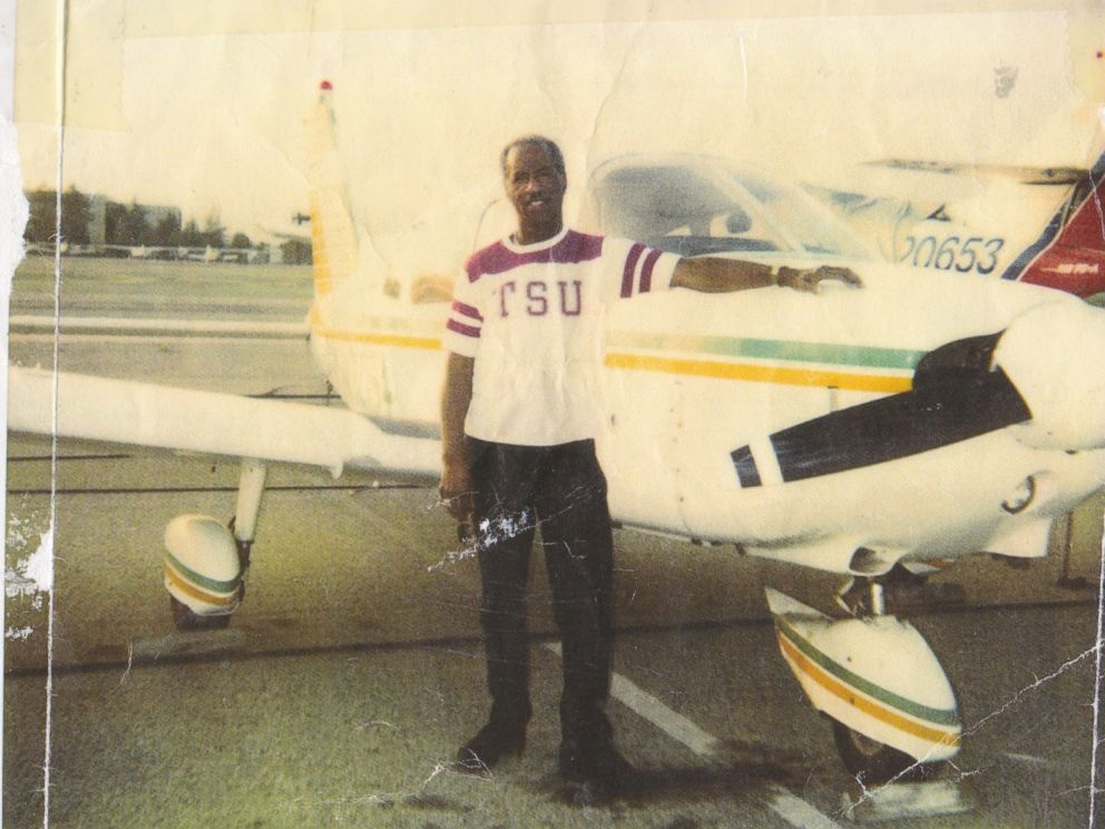 Don Bohana is seen here standing next to a plane in this undated family photo.