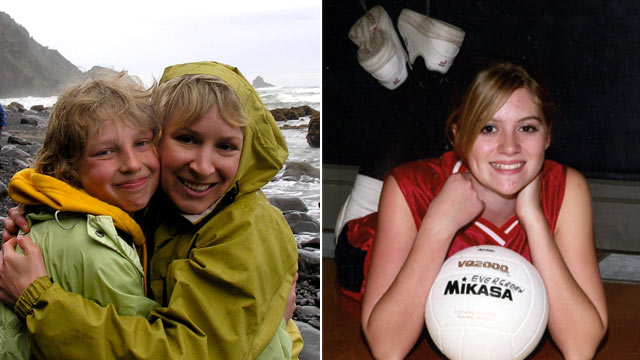 PHOTO:In March 2009, a head-on collision killed Erin Thompson and her son Caden. Justine Winter survived, but with serious injuries. Before the crash, Winter sent distraught text messages to her boyfriend saying she would wreck her car.