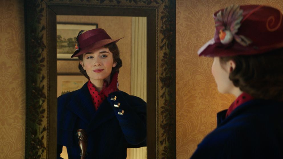 """Emily Blunt stars as Mary Poppins in the 2018 film, """"Mary Poppins Returns."""""""