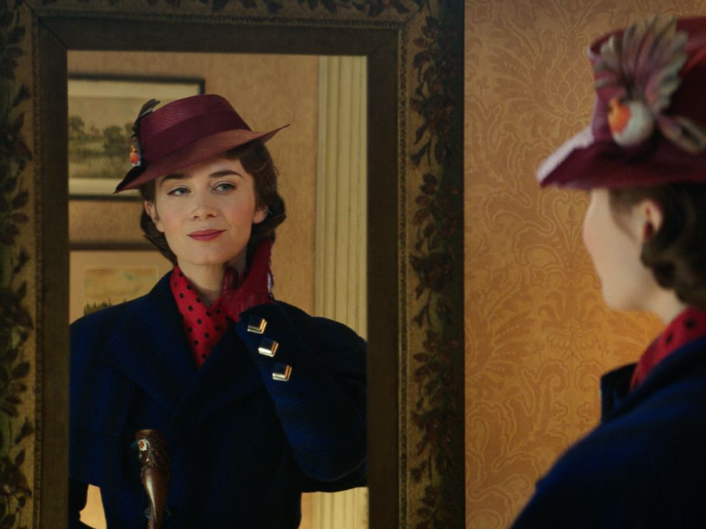 PHOTO: Emily Blunt stars as Mary Poppins in the 2018 film, Mary Poppins Returns.