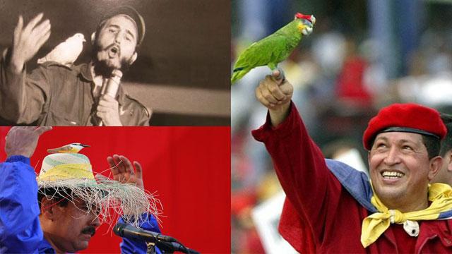 Caribbean autocrats love their birds.