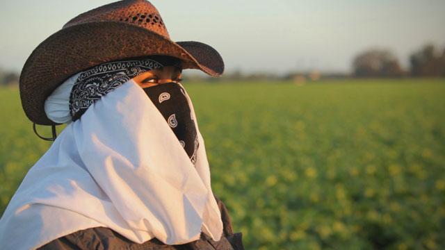 California farmworker Maricruz Ladino.