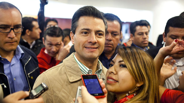 PHOTO: In the months leading up to Mexico´s elections hundreds of fake twitter accounts controlled by a computer program, automatically posted thousands of messages in support of Enrique Peña Nieto.