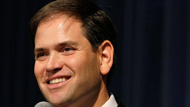 PHOTO:FILE - This Nov. 17, 2012, file photo shows Sen. MarcoRubio, R-Fla. speaking in Altoona, Iowa.