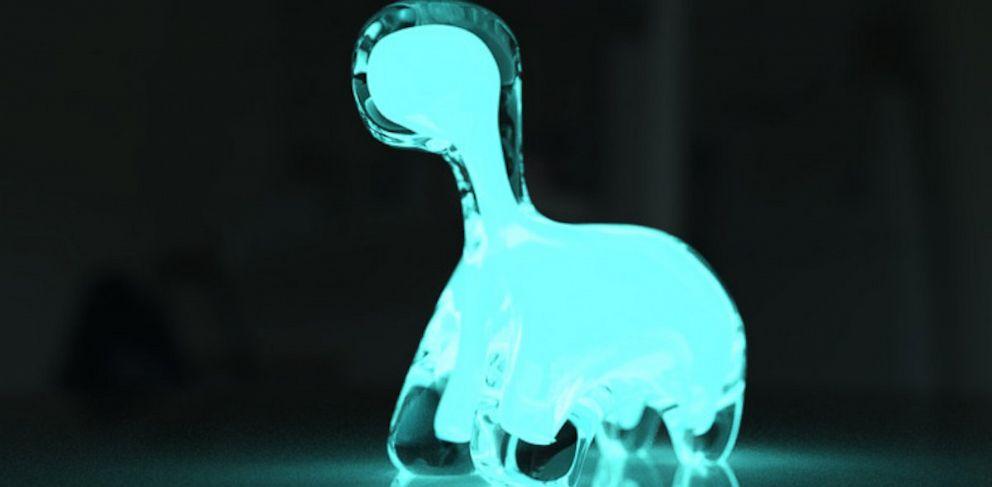 PHOTO: DINO PET, the worlds first bioluminescent pet