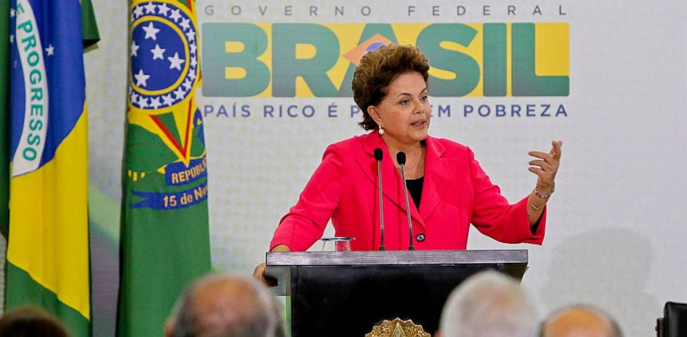 PHOTO: A TV show recently revealed documents which suggest that the NSA was spying on Brazilian President Dilma Rousseff. Brazil is trying to design an email system that is immune to U.S. espionage.