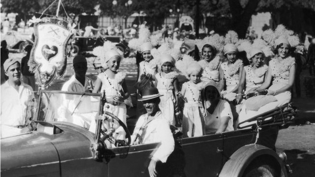 PHOTO:On February 28, 1933 In Rio De Janeiro, Young Girls And Children In Costumes During The Carnival.