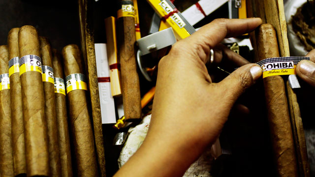 PHOTO:Cohiba Cigars have been handrolled in Cuba since the 1960s. But since the 1980s a U.S. company has also been selling Cohiba cigars that are made in the Dominican Republic.