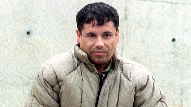 PHOTO:This 10 July, 1993, file photo shows drug trafficker Joaquin Guzman Loera el Chapo Guzman at the Almoloya de Juarez,maximum security prison in Mexico.