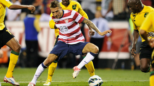 PHOTO:The US defeated Jamaica 1-0 last time both teams met. Today they face off once again, in the final group stage of CONCACAF World Cup Qualifiers. There will be 8 world cup qualifying matches in the Americas tonight.