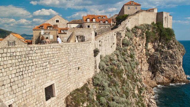 PHOTO:The walls that surround Dubrovnik are about 1.9km long