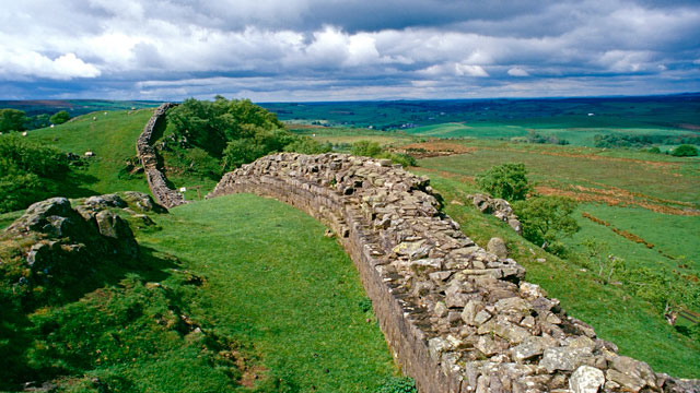 PHOTO:Hadrian's Wall, England, United Kingdom