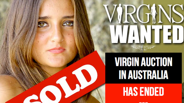 Woman sells her virginity