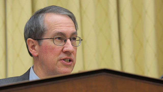 PHOTO: House Judiciary Committee Chairman Rep. Bob Goodlatte, R-Va., gives opening remarks on Tuesday, Feb. 5, 2013, prior to the committees hearing on immigration reform.