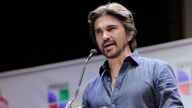 PHOTO: Colombian musician Juanes announces nominations for The XIII Annual Latin Grammy Awards at the Belasco Theater on Tuesday, Sept. 25, 2012, in Los Angeles. The show will be held on Nov. 15 in Las Vegas.