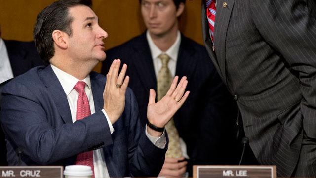 PHOTO:Freshman Republican Sen. Ted Cruz of Texas