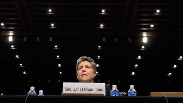 PHOTO:Napolitano