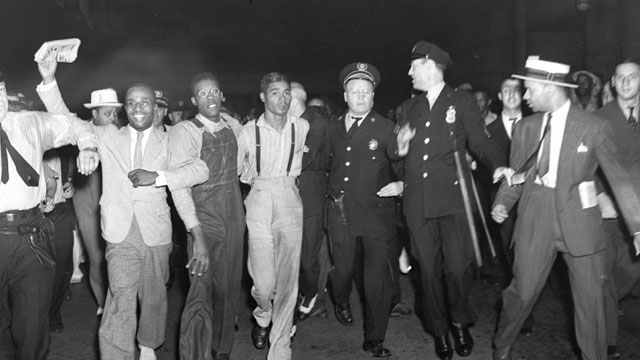 """PHOTO: Alabama lawmakers voted Thursday, April 4, 2013, to give posthumous pardons to the """"Scottsboro Boys"""": nine black teens who were wrongly convicted of raping two white women in 1931."""