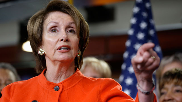 PHOTO:In this Jan. 23, 2013, file photo, House Minority Leader Nancy Pelosi of Calif., holds a news conference on Capitol Hill in Washington, to discuss the reintroduction of the Violence Against Women Act.