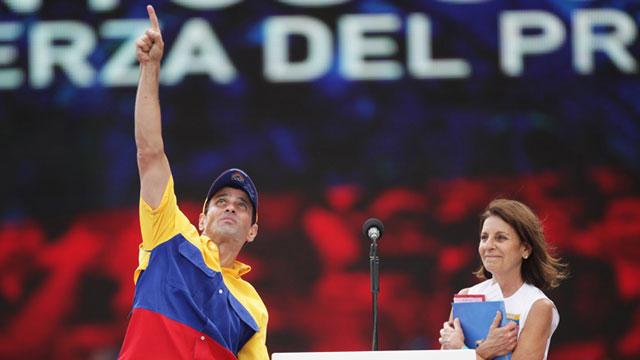 PHOTO:Capriles