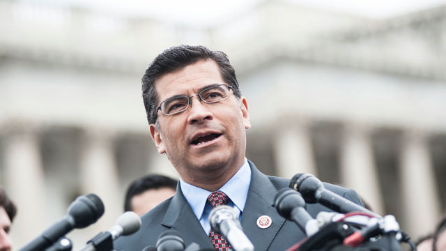 PHOTO:Xavier Becerra speaks during the Im Ready for Immigration Reform campaign press conference at the House Triangle on April 15, 2013 in Washington, D.C.