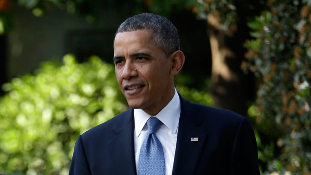 PHOTO:President Barack Obama tours the garden of the President's Residence in Jerusalem, Israel, Wednesday, March 20, 2013