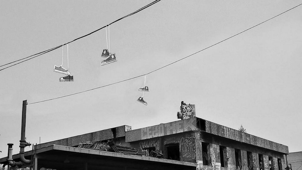 Why Do Sneakers Wind Up On Telephone Wires? This Documentary ...