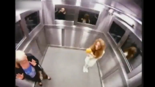 PHOTO: Brazilian elevator prank