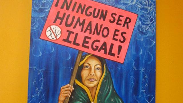 PHOTO:Painting by Los Angeles-based artist Liliflor Ramirez.