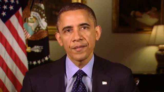 PHOTO:The White House released a video on Friday of President Obama responding to calls for stricter gun control.