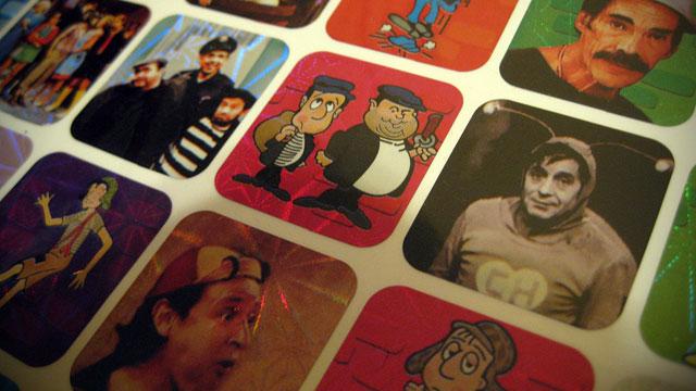 PHOTO:Chespirito pack of stickers.