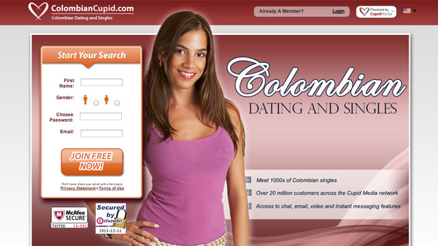 Kolumbia-Dating online