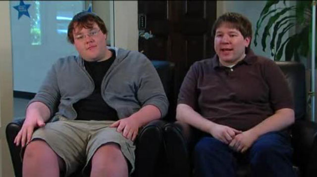 PHOTO: Matthew Keys and his brother, Adam