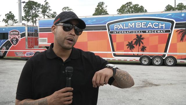 PHOTO:Reggaeton artist Don Omar headlines Drag Mania at Palm Beach International Raceway.