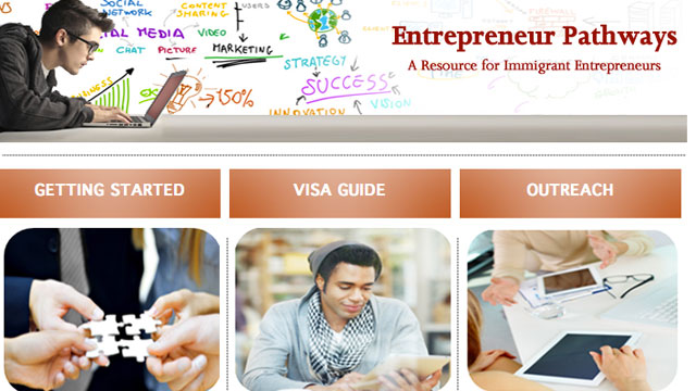 PHOTO: U.S. Citizenship and Immigration Services launched a website that aims to ease the immigration process for entrepreneurs.