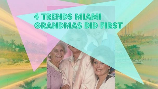 PHOTO: Grandmas did it first. And better.