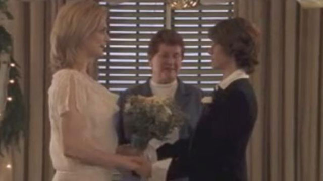 PHOTO:First gay wedding on cable TV