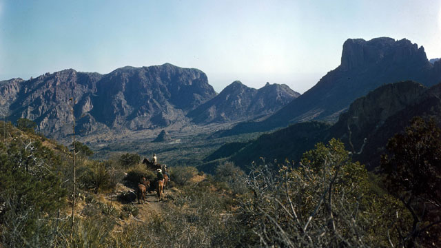PHOTO:A photo of Big Bend National Park, where the Customs and Border Protection (CBP) intend to build the first unmanned border station on the U.S.-Mexico border