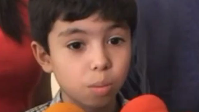 PHOTO:A 10-year-old from Mexico wants to attend Harvard.