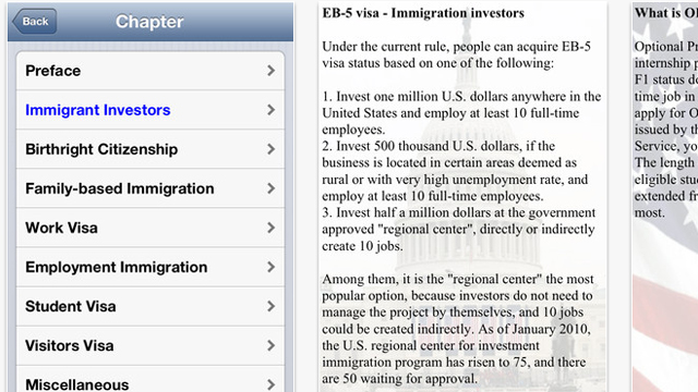 PHOTO: Immigration FAQ