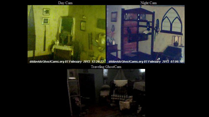 PHOTO: Peek inside these old Victorian rooms -- you might just spot a ghost