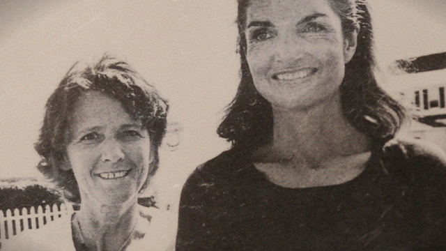 PHOTO: Close friends Marta Sgubin (L) and Jacqueline Onassis Kennedy (R).