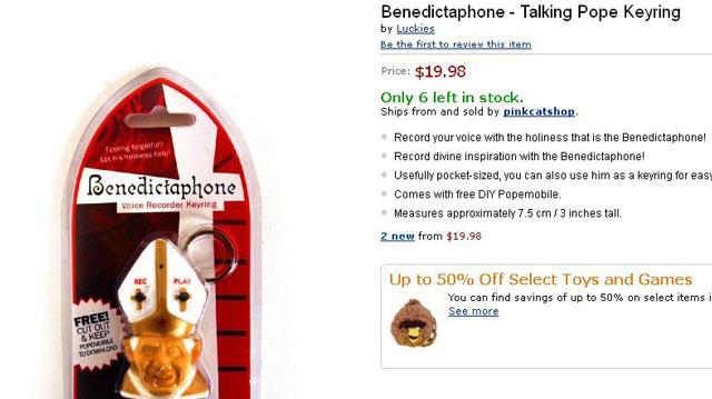 "PHOTO:A ""Benedictaphone"""