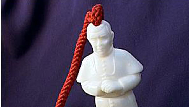 """PHOTO:""""Pope on a Rope"""""""