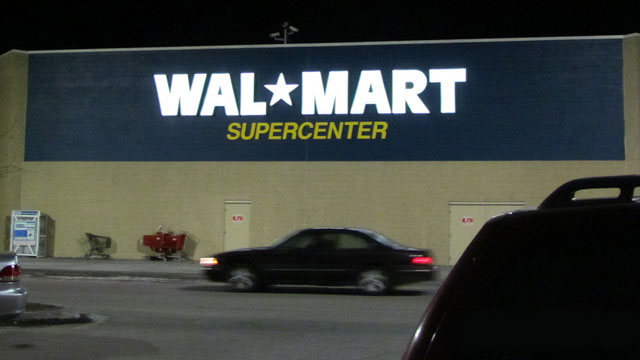 PHOTO: California labor regulators cited a Southern California warehouse for overtime and meal breaks violations. The warehouse handles merchandise for Walmart and other big-box retailers.