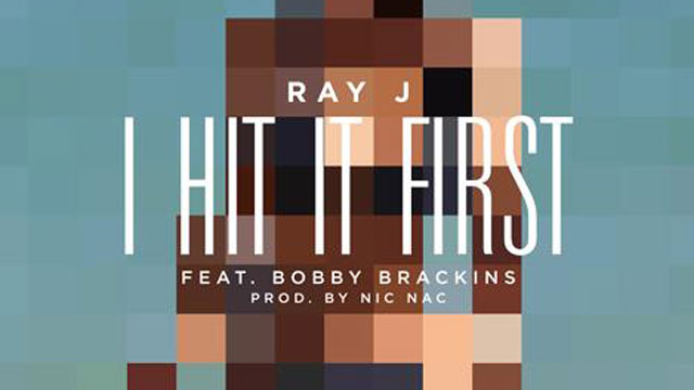 "PHOTO: Ray J's new single ""Hit It First""."